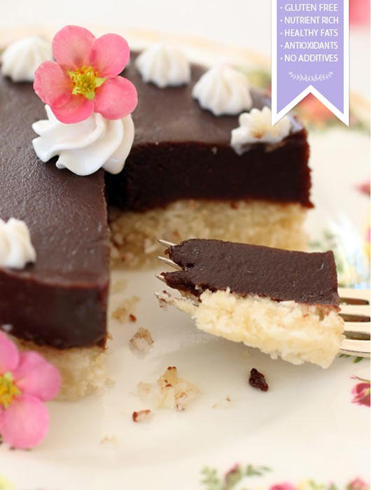 raw food chocolate cake