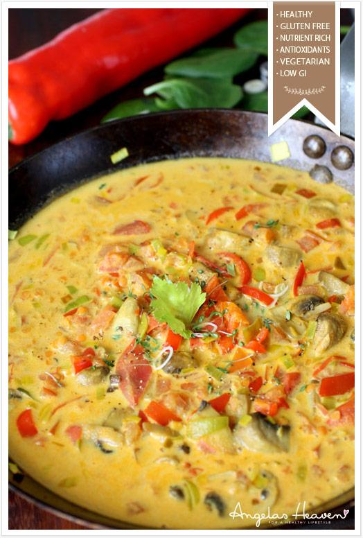 vegetariska rätter med ris