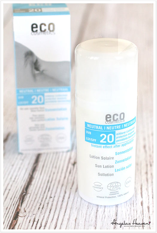 organic sunscreen Ecocosmetics