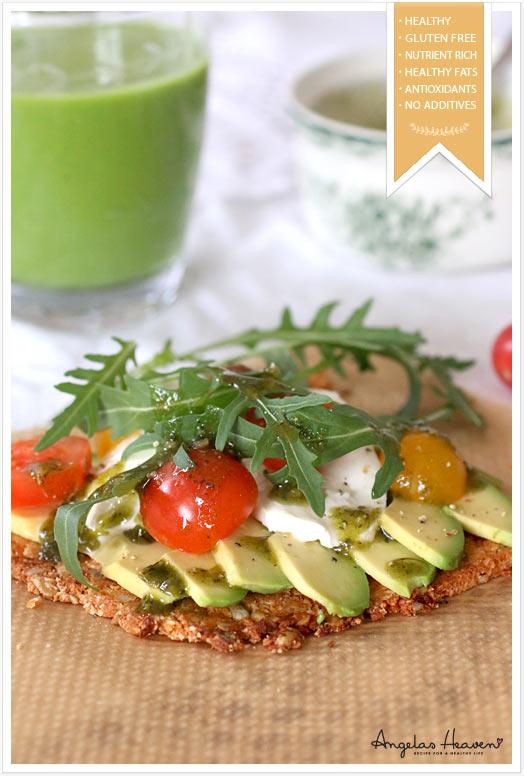 Healthy Raw Food Pizza