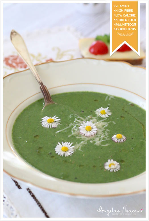 healthy nettle soup