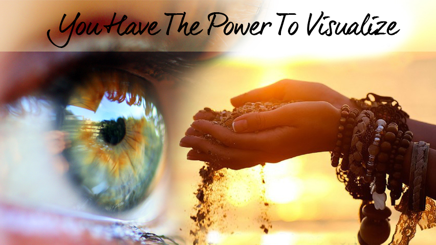 The law of attraction - how to visualize