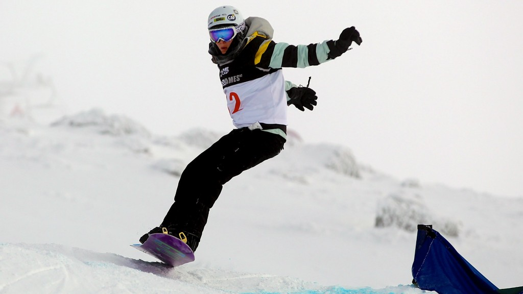 competes in the Snowboard Cross Adaptive during day six of the Winter Games NZ at Cardrona Alpine Resort on August 18, 2011 in Wanaka, New Zealand.