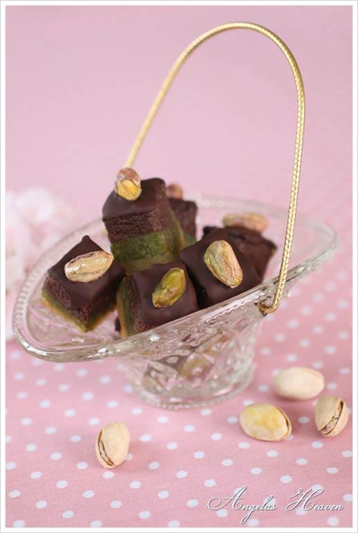 Pistachio-marzipan-with-fudge-and-dark-chocolate