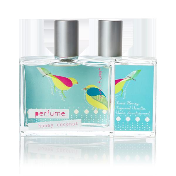 honeycoconut organic perfume
