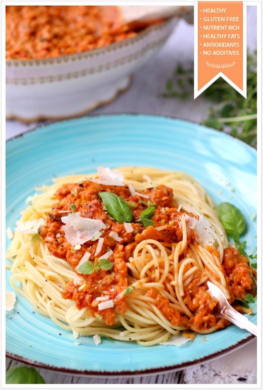 Vegetarian-Bolognese