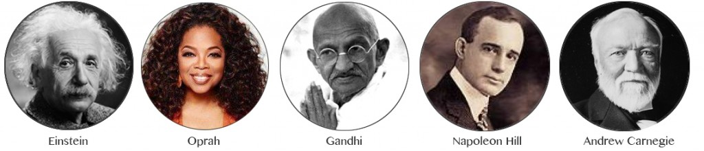 famous people using the law of attraction